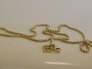 DAVID YURMAN 18K SOLID GOLD BOX CHAIN NECKLACE