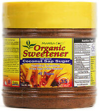 Organic COCONUT SAP SUGAR Manila Coco NOT Cane Sugar/Stevia NOT Agave/HFCS 500gm