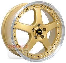 4x FR GOLD 20 inch Alloy Wheel FORD AU BA BF FG Territory Camry Skyline Juke S15