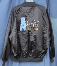 Vintage Paramount The Arsenio Hall Show Casual Jacket 1989 Hip Hop Rap Sz L Mens