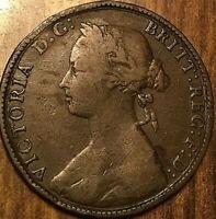 1874 UK GREAT BRITAIN HALF PENNY