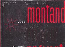 YVES MONTAND DISCO LP 33 GIRI YVES MONTAND CHANTE JACQUES PREVERT - PHILIPS ITA