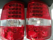 04-07 FORD F150 PICK UP. V2. STYLESIDE. TAIL .LAMPS L.E.D/ RED & CLEAR LENS.