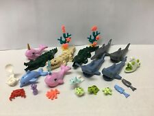 Lego Water Animals Sting Ray Hammerhead Dolphin Whale Sharks Seahorse + More