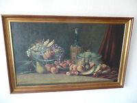 Original Ölgemälde von Frederik Ellgaard, 1896 97x61 cm, in Keilrahmen, signiert