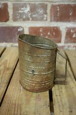 Vintage Bromwells Flour Sifter with Handle