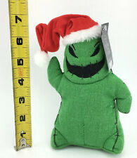 "DISNEY NIGHTMARE BEFORE CHRISTMAS 7"" PLUSH & CLOTH OOGIE BOOGIE WITH SANTA HAT"