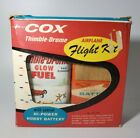 Vintage COX Thimble Drome Glow Fuel Airplane Flight Kit NEW OLD STOCK RARE