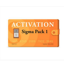 new Sigma Pack 1 Activation for Sigma box and Sigma Dongle for Motorola Alcatel