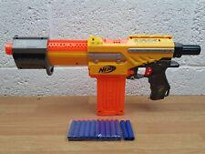 Nerf Alpha Trooper (Yellow) CS-18 With 12 Dart Clip Plus 12 Darts