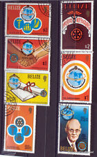 BELIZE   TIMBRES  LE ROTARY      AD35
