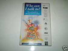 Who Can I Talk to?: User's Guide to Therapy and Counselling by Judy Cooper ~A11