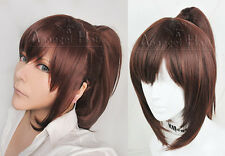 Attack on Titan Sasha Blouse Cosplay Wig Brown Medium Synthetic Hair Costume