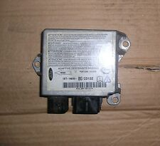 2002 FORD MONDEO Mk 3 TDCI AIRBAG ECU CONTROL MODULE- 1S7T-14B056-BG