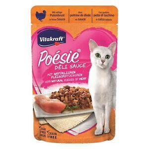 VITAKRAFT Cat Food Poesie Delisauce Putenbrust 23 X 85g Bag Food Cats