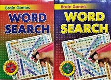 Word search 2 x Brain Games   books ,Enrich Your Word Power - ONE of  BEST !