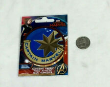 Movie Logo Captain Marvel Adhesive Fabric Jersey Jacket Patch Peel & Stick NEW