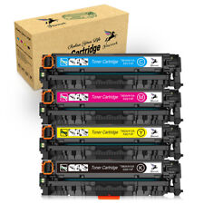 4pk Color Toner For HP CC530A -CC533A 304A LaserJet CM2320mfp CP2025nf CP2025dn