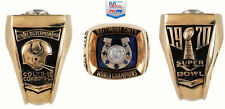 1970 NFL Super Bowl V Championship (10k Gold Ring) PSA Authentic