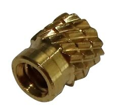 10x inserts en laiton pour plastique thermodurcissable filetage M2 4.1mm