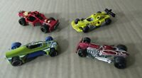 Lote 4 Hot Wheels coches vintage Med Evil,Roll cage, Rat Ified, F1 vintage