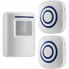 Motion Sensor Doorbell Chime, Wireless Driveway Alert,Home Security System Alarm