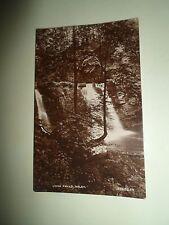 Vintage Real Photo Postcard LYNN FALLS, DALRY (Ayrshire) D Morton Printer Dalry