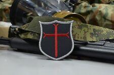 Red Crusader Cross, Knights Templar, DEVGRU SEAL Team 6 NSWDG US patch