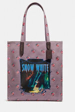 DISNEY X COACH Spooky Eyes SNOW WHITE TOTE PURSE Limited Edition DARK FAIRY TALE