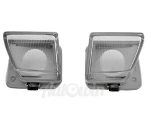 MERCEDES BENZ SL CLASS W129 FOG LIGHT GLASS LENS RIGHT AND LEFT SIDE GENUINE NEW
