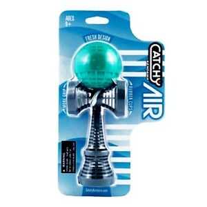 Catchy Air Kendama - Teal and Grey