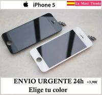 """Pantalla Completa para """"Iphone 5"""" Negra Blanca ( Lcd + Tactil ) Cristal Retina"""