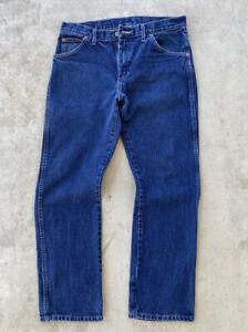 Vintage 90's Dickies Blue Carpenter Cargo Workwear Jeans Pants Size 30x30