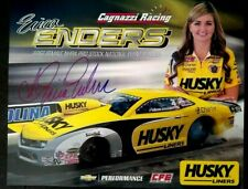 ERICA ENDERS NHRA AUTOGRAPHED HUSKY PRO STOCK DRAG RACING HERO CARD