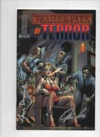 TRAILER PARK OF TERROR #2, NM, Zombies, Electric Chair, Signed Dracoules 2005