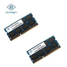 NANYA OEM 8GB Kit (2 x 4GB) PC3 - 10600S 1.5V SO-DIMM DDR3 Laptop Memory