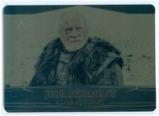 """JEOR MORMONT """"GOLD BASE CARD #62 #065/100"""" GAME OF THRONES VALYRIAN STEEL"""