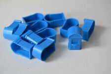 Monopoly jr. replacement game piece ticket booths - blue - qty 12