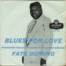 "FATS DOMINO ""BLUES FOR LOVE"" VOL. 2 U.K. EP 1957 LONDON RE-U 1062"