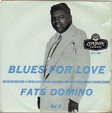 "FATS DOMINO ""BLUES FOR LOVE"" VOL. 2 U.K. EP 1957 LONDON RE-U 1062"