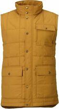 BURTON Snow Men's WOODFORD Vest - Harvest Gold - Large - NWT - LAST ONE LEFT