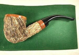 Beautiful Unique Tom Spanu Sughero 2000 Estate Pipe