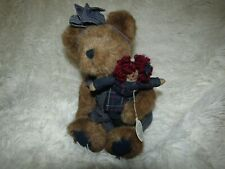 Boyds Bears Sally Quignappel and Annie. The Archive Collection. New! With tags!
