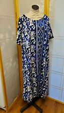 NWT Meng Designs Rayon Batik Dress L Large NICER