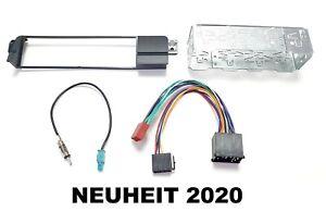 BMW 3er E46 Kit Incl. Metalleinbaurahmen Nuevo Completo Marco Y Cable Adaptador
