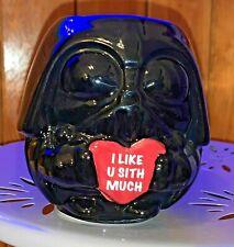 Star Wars Valentine'S Day 12 oz Darth Vader Chibi Ceramic Figural Mug