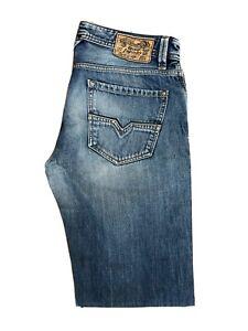 Original Diesel Larkee 0073I Regular Straight Blue Denim Jeans W34 L34 ES 8255