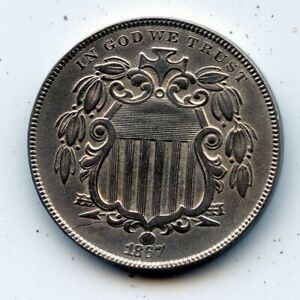 1867-p Shield Nickel (SEE PROMOTION)