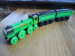 Thomas Tank Engine & Friends Wooden Train - THE FLYING SCOTSMAN - P&P DISCS