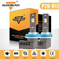 AUXBEAM H11 LED Headlight Kit Low Beam Bulb Super Bright 6000K 60Day Free Retuns